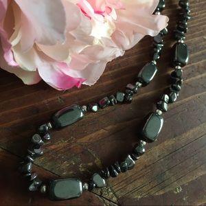 Jewelry - Hematite Necklace